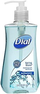 Dial Antibacterial Liquid Hand Soap, Spring Water, 7.5 Fluid Ounces