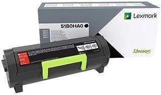 $179 » Lexmark 51B0HA0 MS417dn MX417de Regular High Yield Cartridge Toner