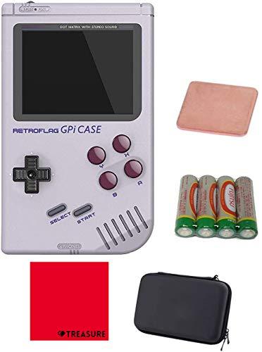 [正規品] RETROFLAG レトロフラッグ レトロゲーム風ラズベリーパイケース GPi Case Raspberry Pi Zero Raspberry Pi Zero W [セミケース/ヒートシンク/クロス/単三電池*4付] (GPiケース)