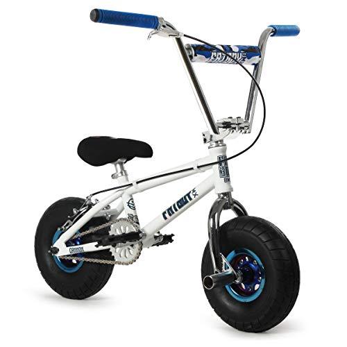 New 2021 Fatboy Pro X Cannon Mini BMX Bike (White/Chrome)