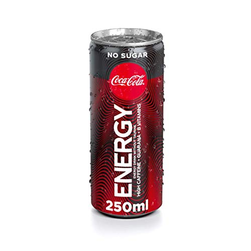 Coca-Cola Coke Energy Zero Can - 250 ml