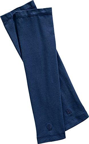 Coolibar pour Homme de Protection UV UPF50 + Manches XXL Bleu Marine