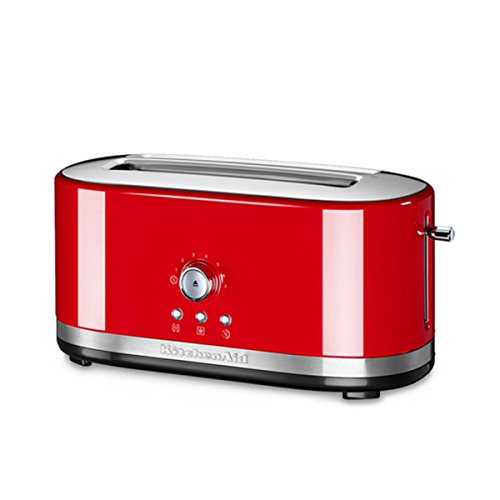 KitchenAid 5KMT4116 2slice(s) 1800W Rojo - Tostador (2 slice(s), Rojo, Metal, 1800 W, 420 mm, 196 mm)