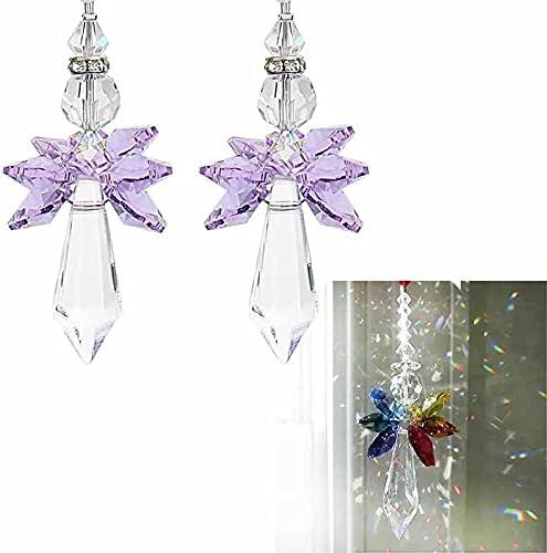 Toidoi Crystal Rainbow Suncatcher - Modern Max Raleigh Mall 48% OFF Angel