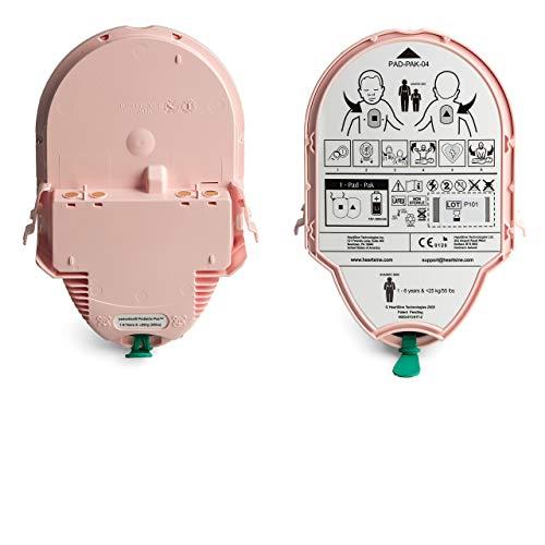 MedX5 PED-PAK Batterie-und Elektrodenkassette, kombinierte Langzeitbatterie- und Elektrodenkassette für Kleinkinder < 8 Jahre oder < 25 kg.