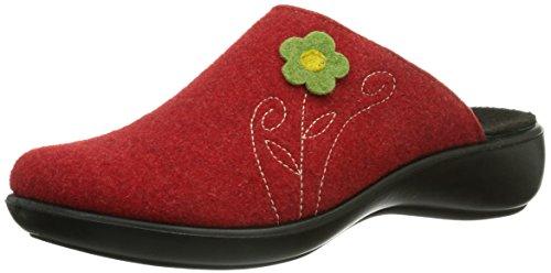 Romika Damen Ibiza Home 303 Pantoffeln, Rot (rot 400), 44 EU (9.5 UK)