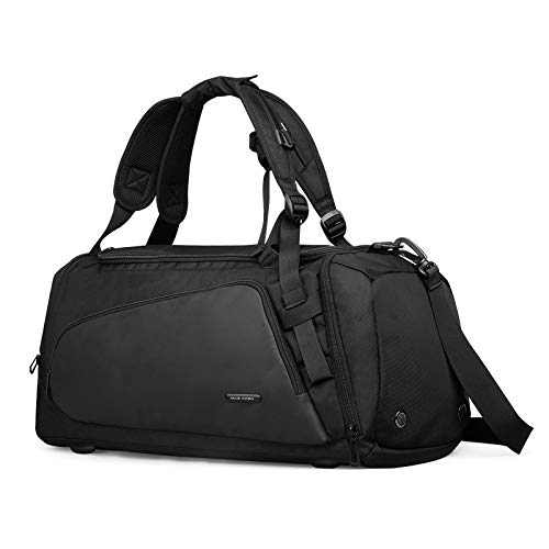 YPSMCYL Mark Ryden Portable Travel Bag Waterproof Large-capacity Business Trip Duffel Bag Dry And Wet Separation Sports Gym Bag Male