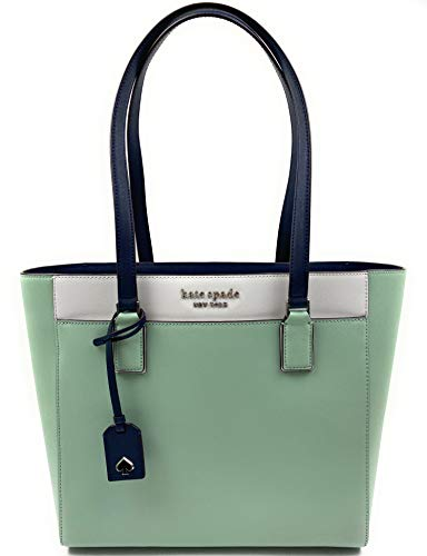Kate Spade New York Cameron Womens Saffiano Leather Laptop Tote Shoulder Bag (Springmedw Multi)