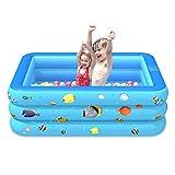 Steadyuf Piscinas inflables, gruesas y duraderas piscinas inflables, piscina familiar, centro de natación para niños, adultos, bebés, niños pequeños, al aire libre, jardín, patio trasero