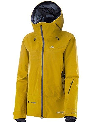 SALOMON Qst Charge GTX 3L JKT W - Jacke für Damen, Farbe Gelb, Größe S