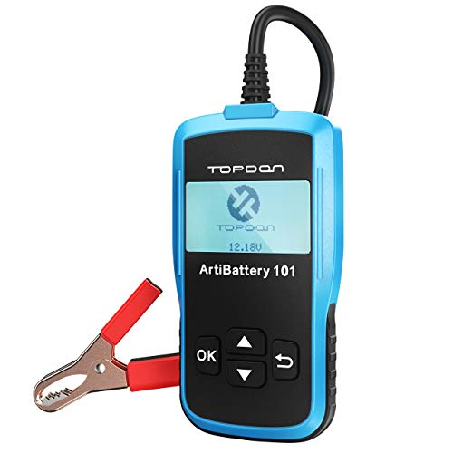 Car Battery Tester - 12v Car Auto Battery Load Tester on Cranking System and Charging System Scan...