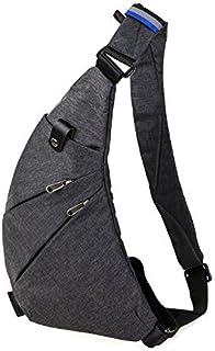 حقيبة سلينغ حقيبة كروسبودي كتف ظهر حزمة مضادة للسرقة حقائب السفر Daypack