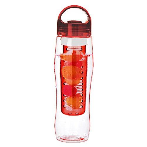 Zrong Trinkflasche für Fruchtschorlen, 700 ml, Tritan, verschiedene Farben erhältlich, BPA-frei