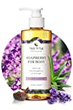 Tree To Tub Moisturizing Body Wash for Dry Skin - pH Balanced Body Wash for Sensitive Skin. Lavender Soap with Organic Shea Butter 8.5 oz