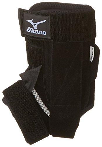 Mizuno DXS2 Ankle Brace Left Leg 480110, Black, Small