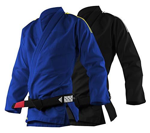 adidas Unisex's BJJ Uniform-250g Jiu Jitsu Arti Marziali Gi, Blu, A1