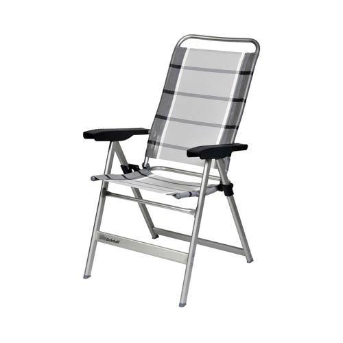 Dukdalf stoelen campingstoel Dolce zilver/antraciet, 39179