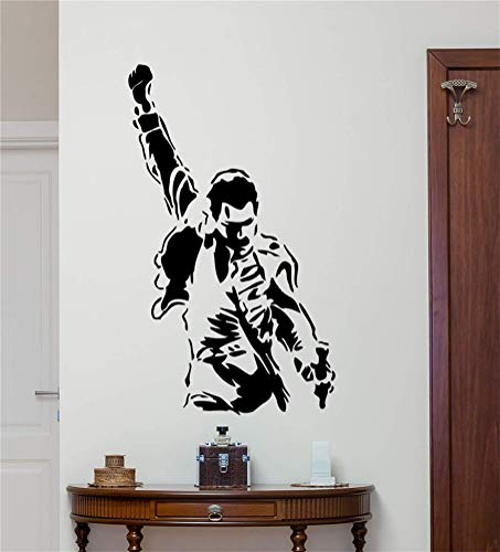 pegatinas de pared y murales Freddie Mercury Tatuajes de pared Banda d
