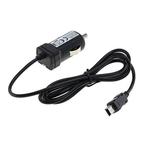 OTB autolaadkabel mini-USB, 1A, geïntegreerde TMC-antenne voor Becker Traffic Assist, Garmin: zumo serie en navigon met mini-USB-aansluiting