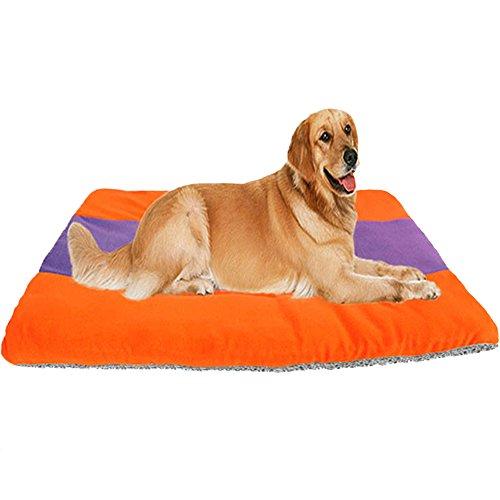 SILD ペットベッド 犬 猫用 通年タイプ ふんわり クッション 寝床 マット 犬小屋 小型 中型 大型 保温布団...