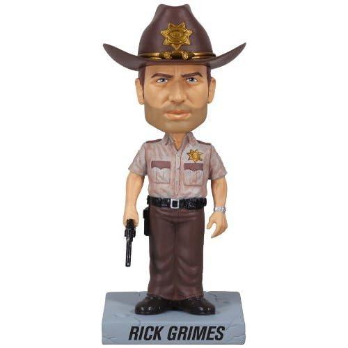 Funko The Walking Dead di Rick Grimes Bobble Head Figurina