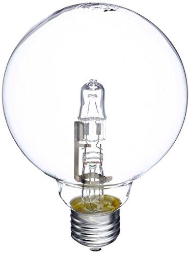 Trio Leuchten Leuchtmittel , E27, Globe G95, 52W, Energieeffizienzklasse C, 825 Lumen, 2700 Kelvin 965-52