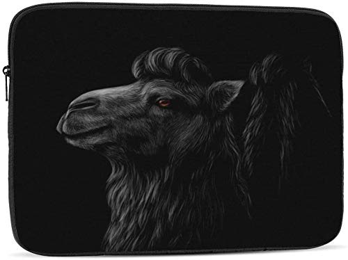 Portrait of A Bat - Funda para ordenador portátil compatible con 10 – 17 pulgadas, funda para ordenador portátil, retrato de una cabeza de camel, 13 pulgadas