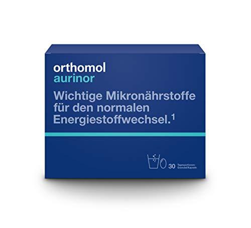 Orthomol aurinor 30er Graunlat & Kapseln - Nahrungsergänzungsmittel - Vitamine für Energiestoffwechsel & Nervenfunktion