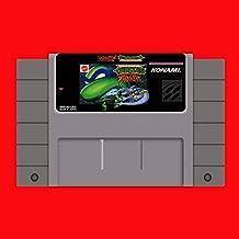 Teenage Mutant Ninja Turtles Tournament Fighters 16 Bit Big Gray Game Card For Usa Ntsc Game Player