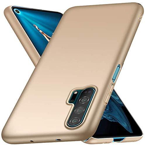 TianSY Cover Honor 20 PRO Moda Slim Anti Scivolo Matte Case applicabile Honor 20 PRO Smartphone Cover Gold