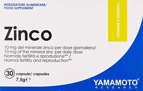 Yamamoto Nutrition Zinco, 30 caps, 25 g