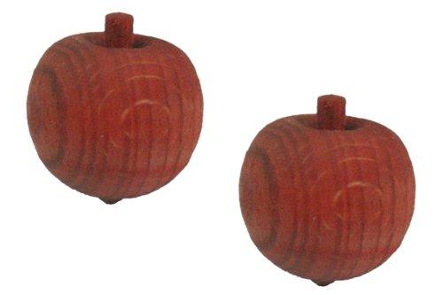 MANDARINE Duftholz/Duftfrucht, 2 Stück