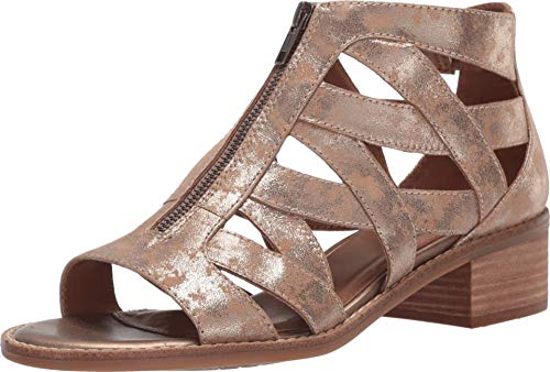 Comfortiva Bianna Anthracite Distressed Foil Suede 7.5