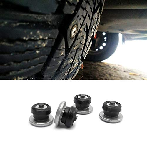 HXFANG 100PCS 8mm Spikes for Reifen/Winterreifen Spikes/Autoreifen Studs/Schnee Chians Ice Stud Carbide Studs for Auto Auto/SUV/ATV (Color Name : 200 pcs)