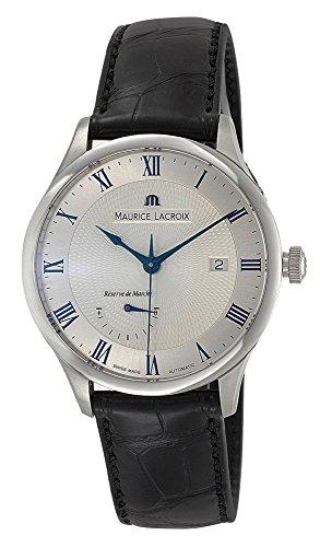 Maurice Lacroix Masterpiece Reserve de Marche Automatic Mens Strap Watch...