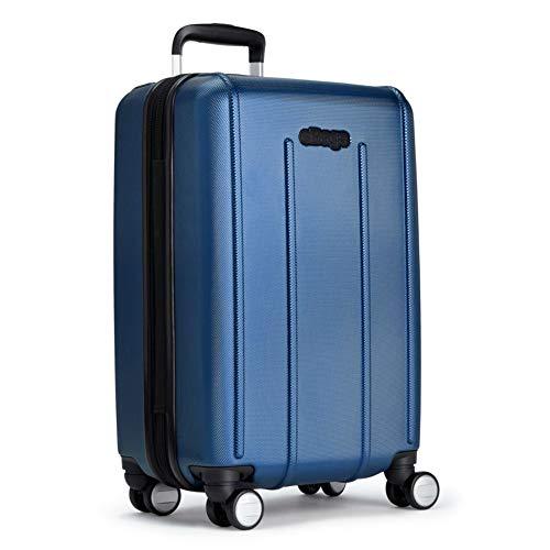 eBags EXO 3.0 EXP Hardside Carry-on Spinner (Metallic Blue)