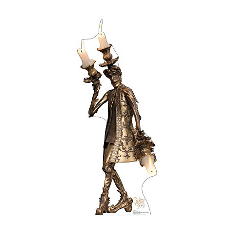 Advanced Graphics Lumiere Life Size Cardboard Cutout Standup - Disney's Beauty and The Beast (2017 Film)