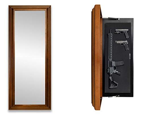 Tactical Traps Mirror MAX Gun Storage with Trap Door |...