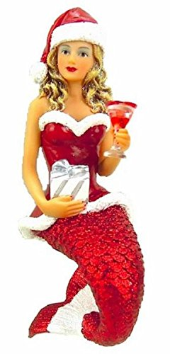 December Diamonds Santa Baby II Mermaid Christmas Ornament Decoration 5555009