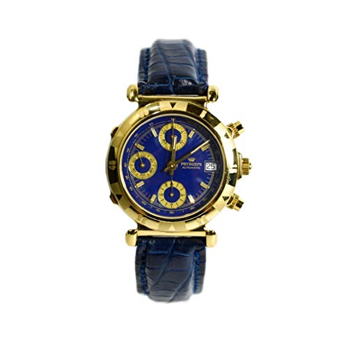 Pryngeps Orologio Automatic and Manual Watch Chronograph CR757 Gold-plated 10 micron