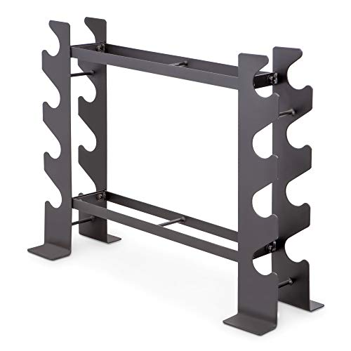 Our #6 Pick is the Marcy DBR-56 Dumbbell Rack