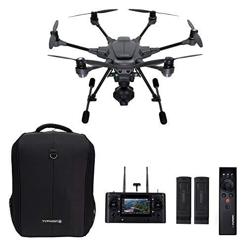 Yuneec Typhoon H Pro with Intel RealSense Technology - 4K Collision Avoidance Hexacopter Drone, Carbon Fiber (YUNTYHBRUS) (Renewed)