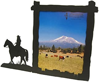 Female Horse Back Rider 8X10 Vertical Picture Frame