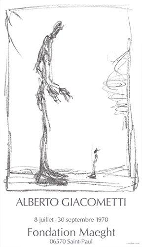 """Dessin I by Alberto Giacometti 31""""x18"""" Art Print Poster"""