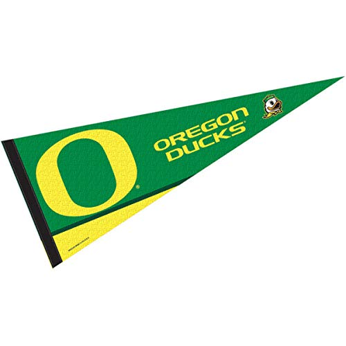 College Flags & Banners Co. Oregon Ducks Pennant Full Size Felt