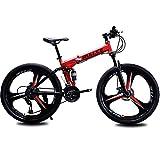Bicicletas De Montaña, Bicicletas De Montaña Plegables De 26 Pulgadas, Bicicletas De Montaña De Suspensión Total De 21, 24 Y 27 Velocidades, Bicicletas Plegables Para Exteriores Para Hombres Y Mujeres