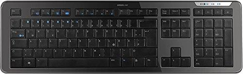 Preisvergleich Produktbild SPEEDLINK Athera Tastatur mit Us-Layout Bluetooth - Schwarz - Tastaturen (Standard,  Kabellos,  Bluetooth,  Schwarz)