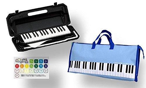 KC 鍵盤ハーモニカ (メロディーピアノ) P3001-32K ソフトケース付属 (ブラック)