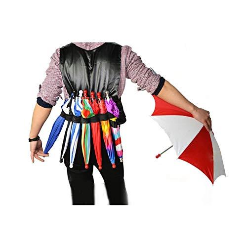 CCAN Elastic Regenschirm Gürtel Zauberer Zaubern Parasol Produktion Zubehör Bühnen Illusion Requisiten Spielzeug