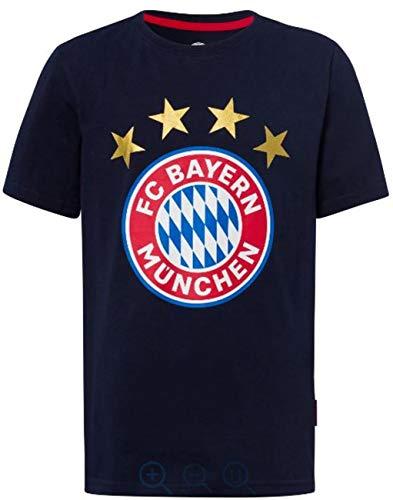 FC Bayern München + Sticker München Forever, Tshirt Gr. 128 bis 3XL FCB (164)